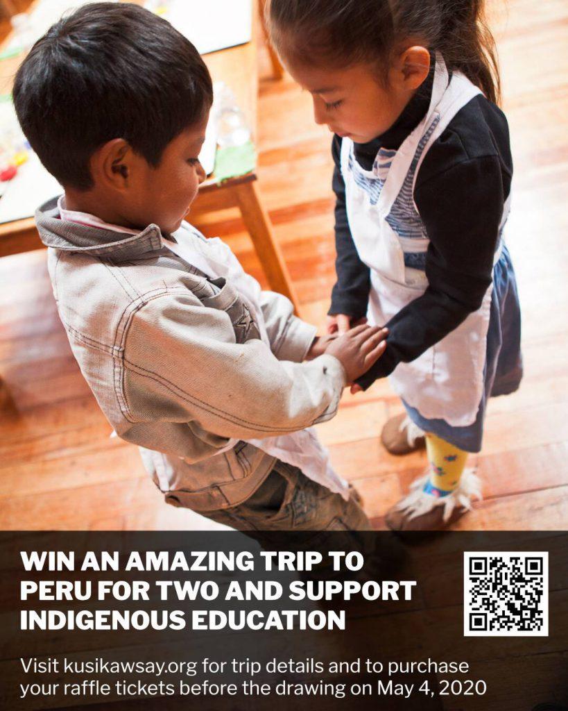 Win a trip to peru!
